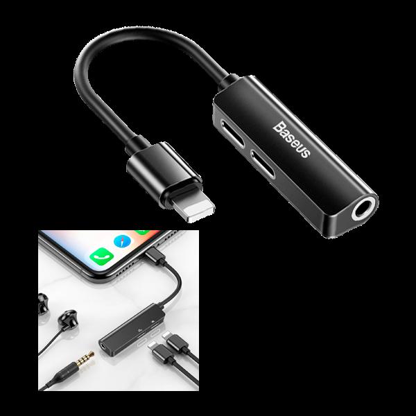 Adaptador cable lightning Dual LIGHTNING