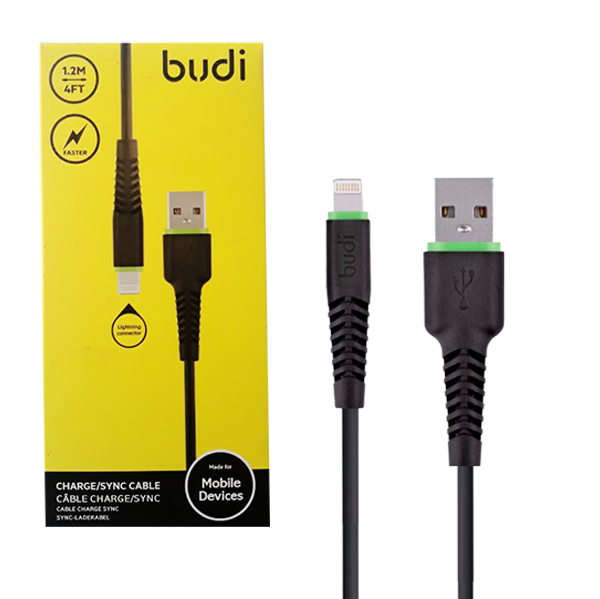 Cable usb iphone negro iPhone