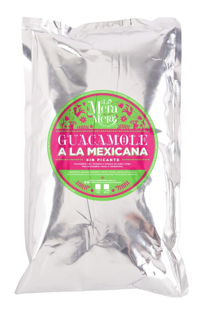 Guacamole a la mexicana Bolsa de 250 gris