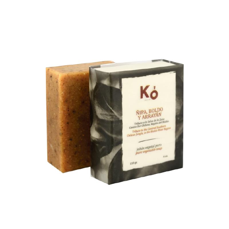 Jabón en barra ñipa boldo arrayan Barra 110 g