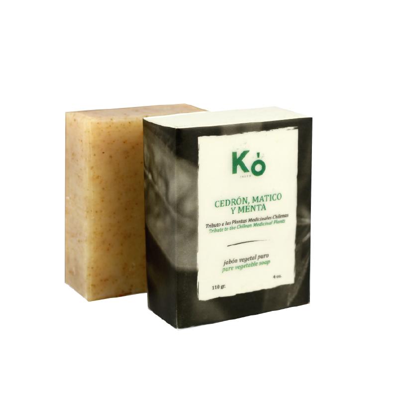 Jabón en barra cedron matico menta Barra 110 g