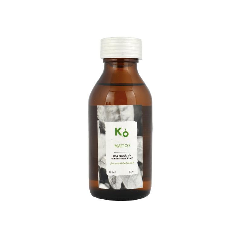Aceite masajes matico Botella 120 ml