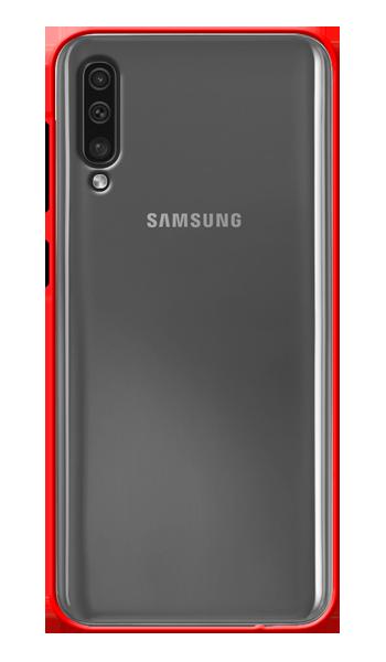Carcasa matte hard cases red SAMSUNG GALAXY A50