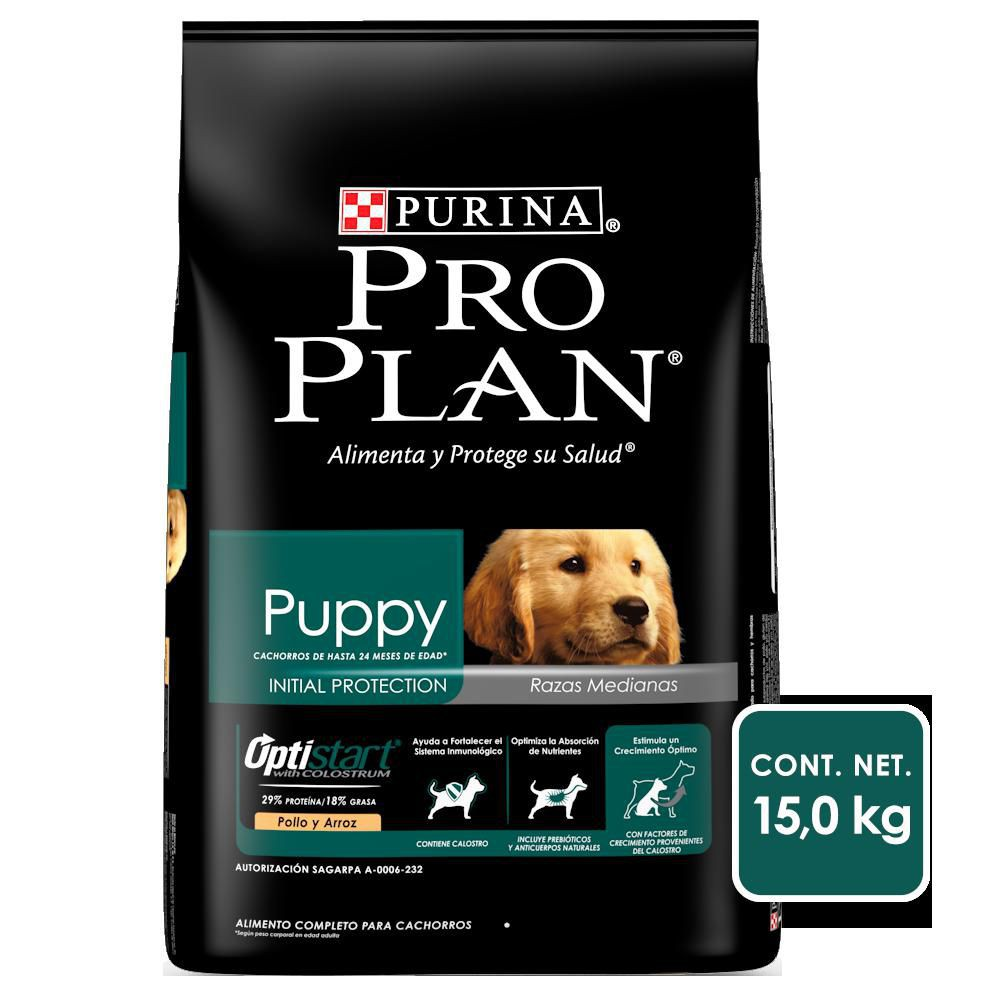 Alimento para cachorro raza mediana