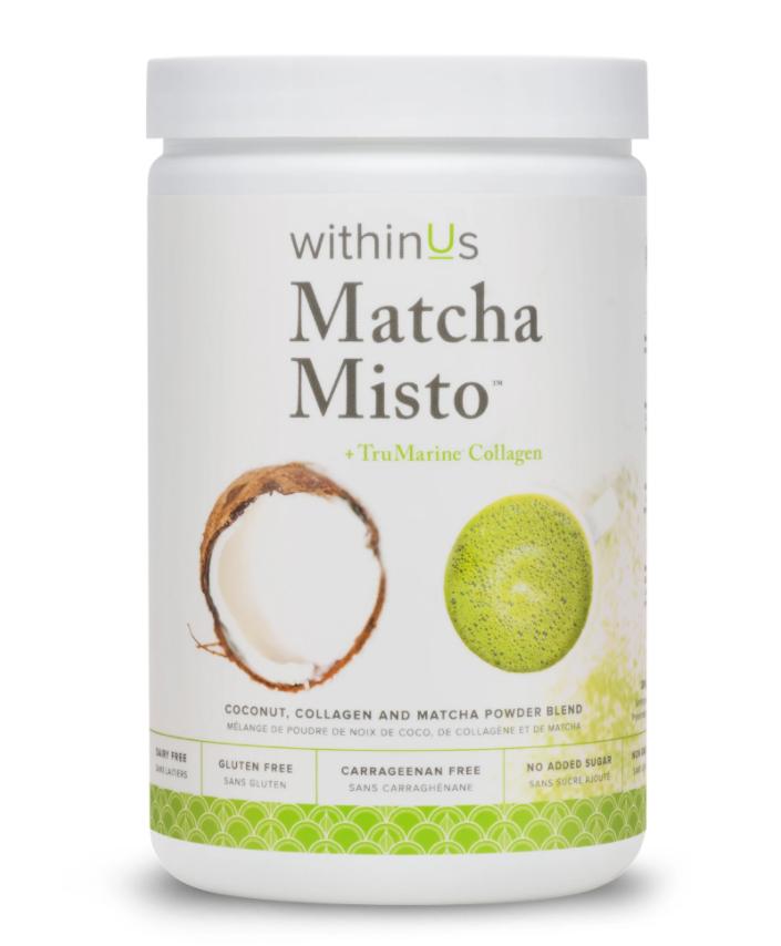 Withinus matcha misto + trumarine collagen 35 servings 280g