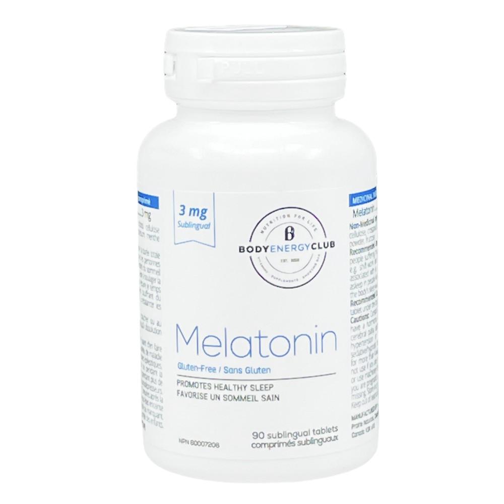 Body energy club melatonin 3mg 90 Tablets