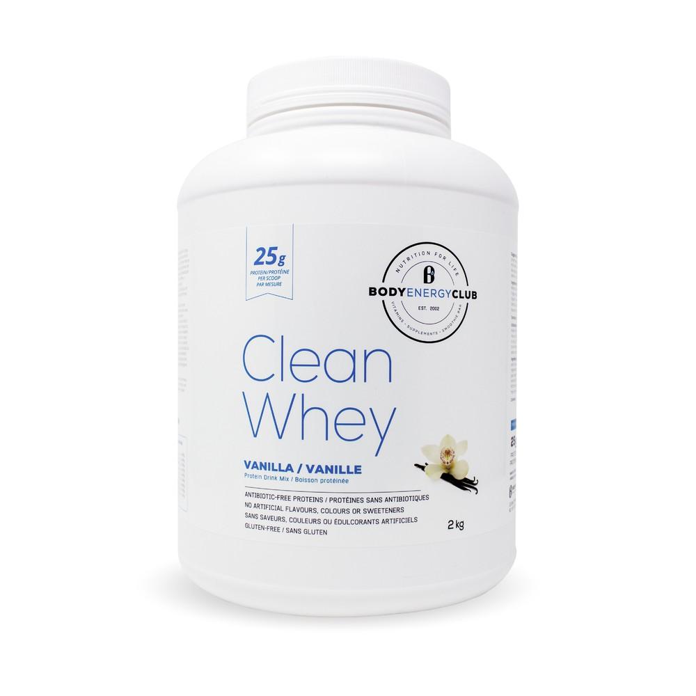 Body energy club clean whey powder 2kg