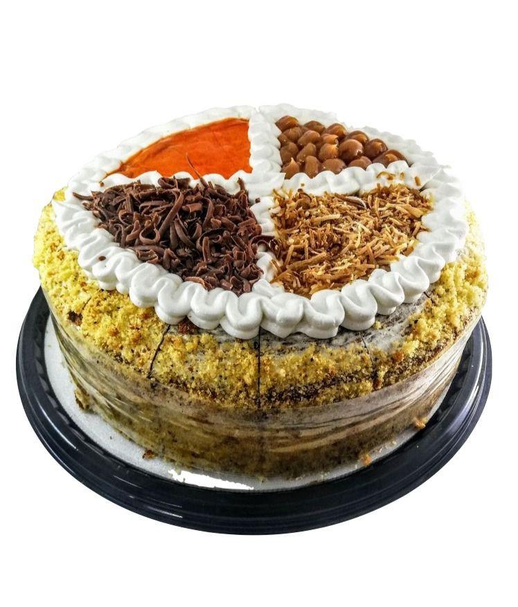 Torta decorada 16 porciones