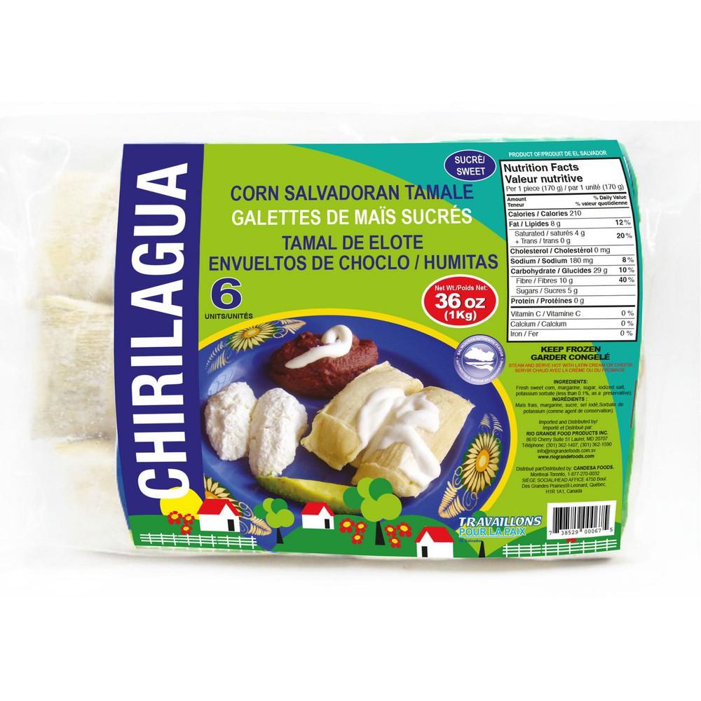 Chirilagua corn salvadoran tamale