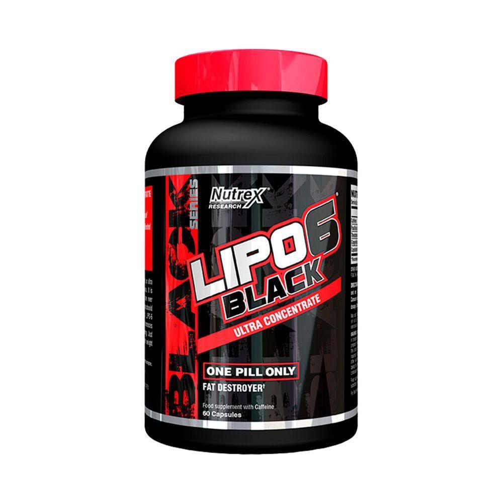 Lipo 6 black ultra concentrado 60 capsulas