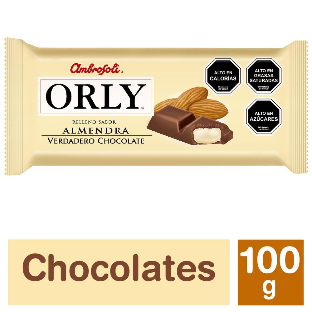 Chocolate Orly almendra