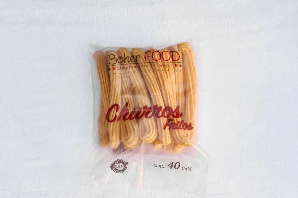 Churros clásicos fritos congelados Bolsa de 40 un