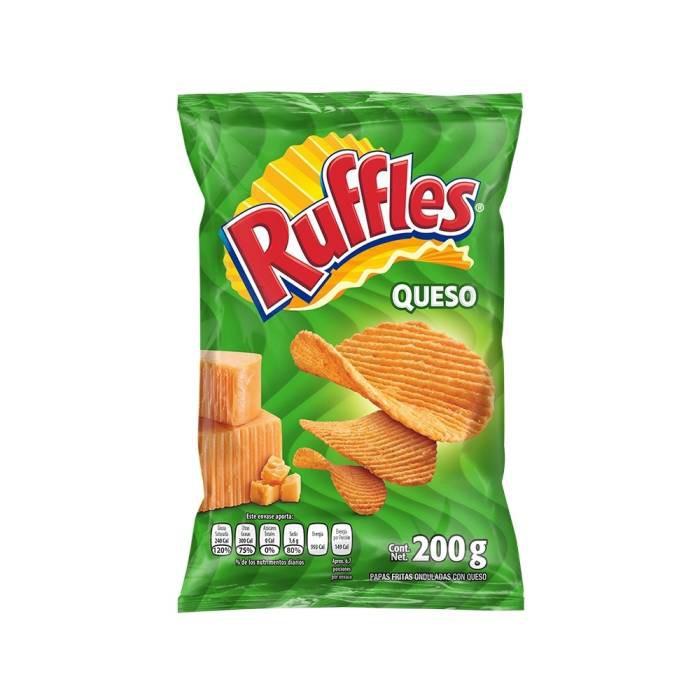 Ruffles sabor queso