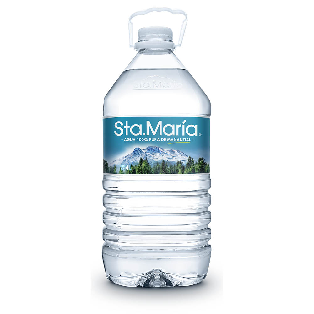Agua de manantial