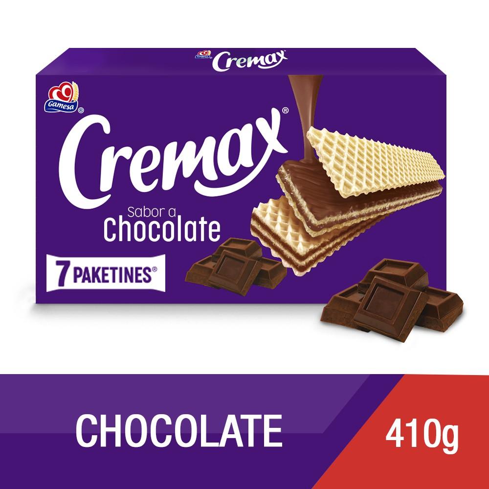 Galletas con relleno sabor chocolate