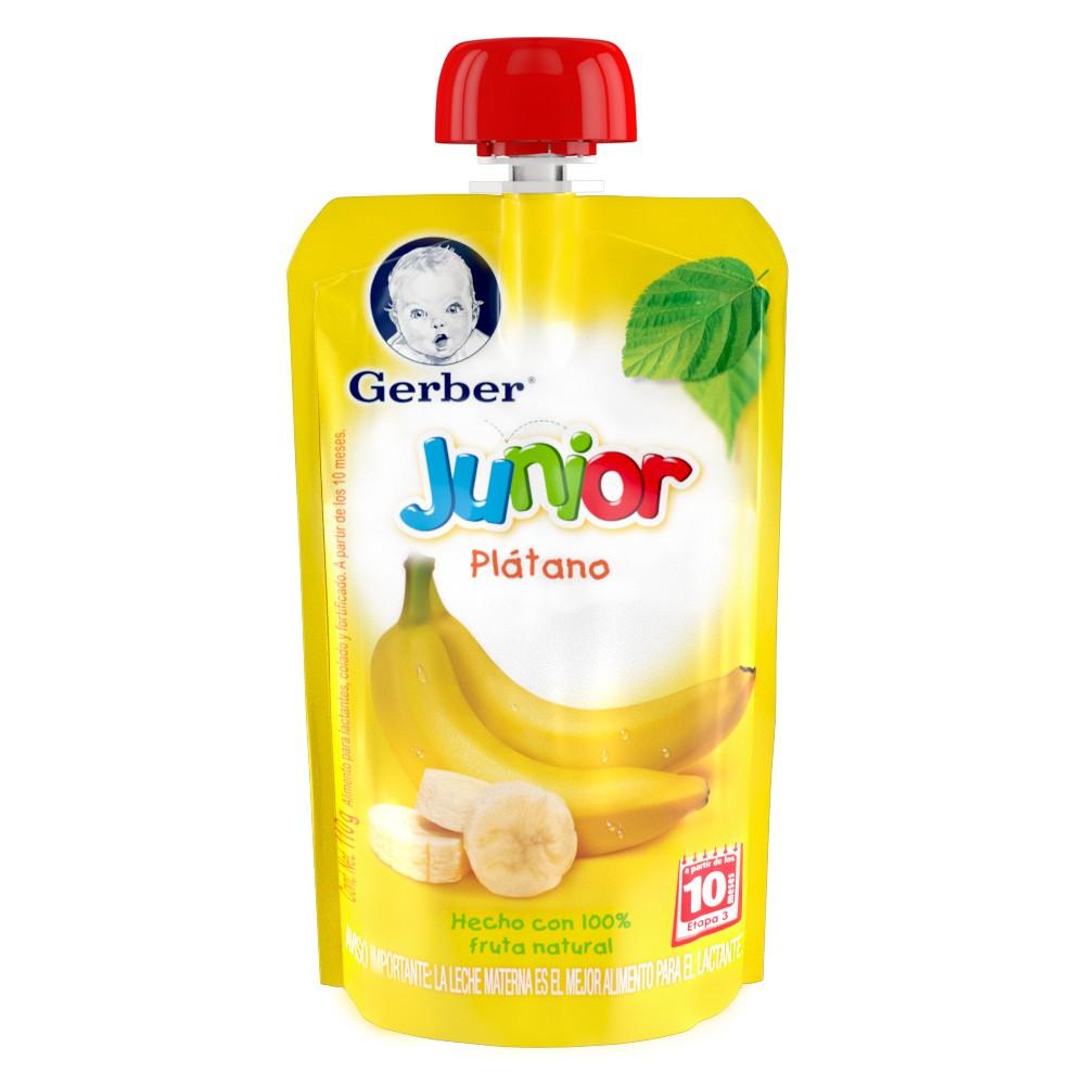 Papilla sabor plátano junior etapa 3