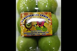 Manzana verde bandeja 6 un