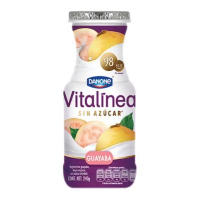 Yoghurt bebible vitalínea sabor guayaba