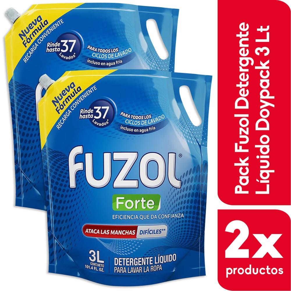 Pack detergente líquido Forte