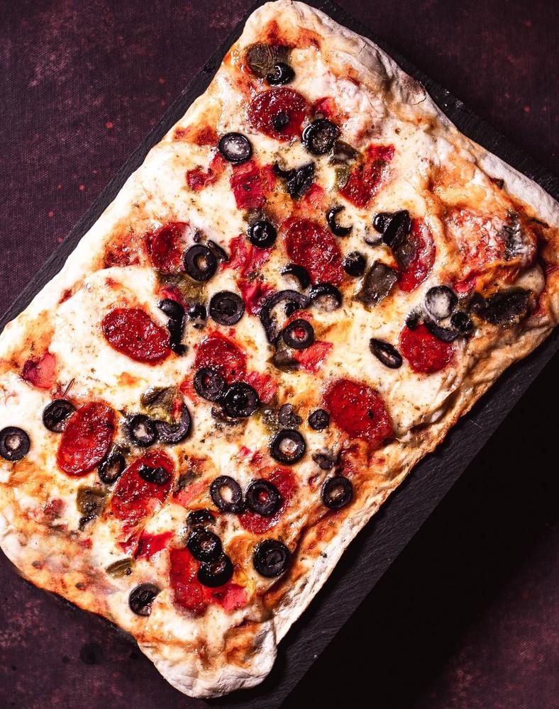 Pizza española 450 gr