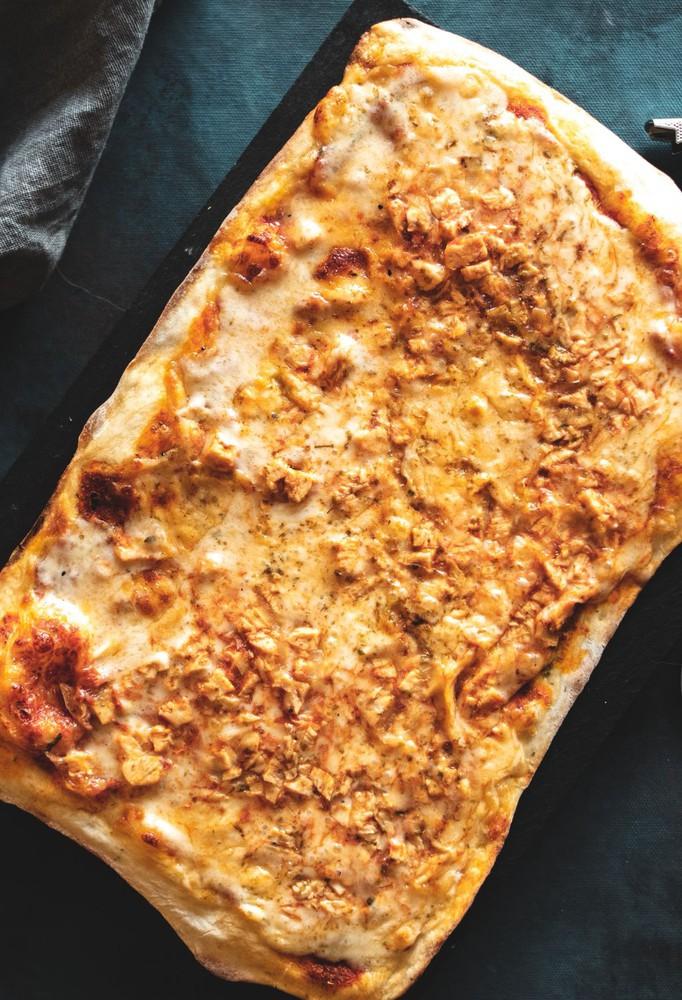Pizza pollo bbq 450 gr