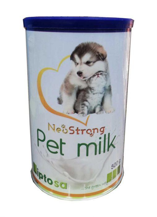 Leche para gatos y perros neostrong pet milk 500gr