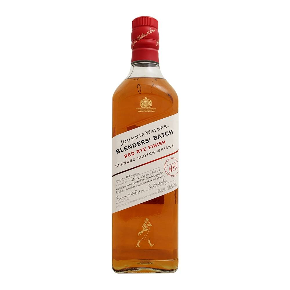 Whisky Johnnie Walker Red Rye Finish Escocés Blenders