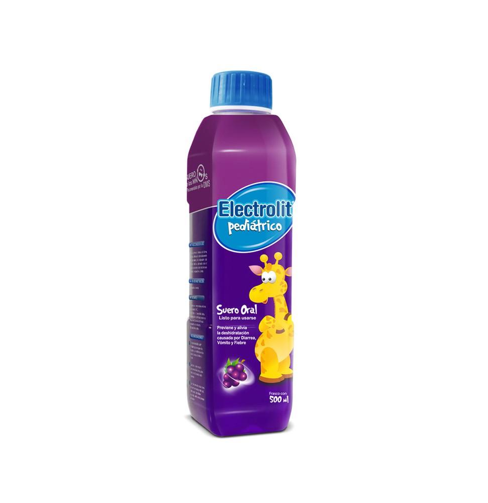 Suero pediátrico sabor uva