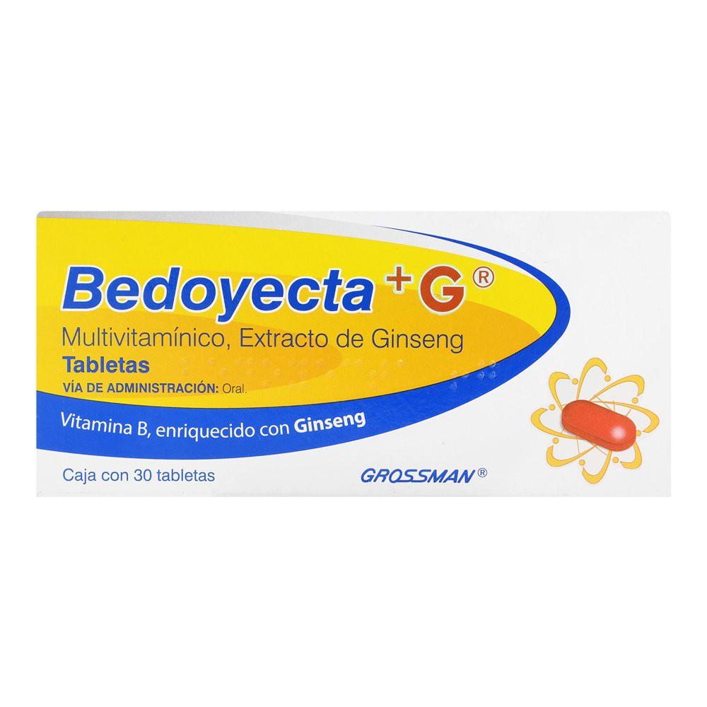 Bedoyecta + G Miltivitaminico Tabletas 30 pz