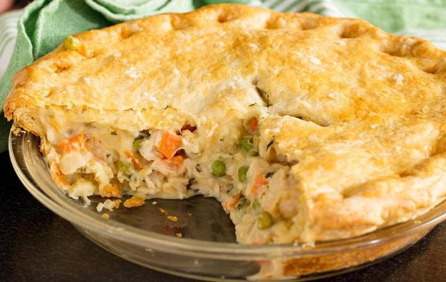 Chicken and Vegetable Tavern Meat Pie