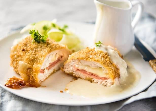 Cordon Swiss Stuffed Chicken