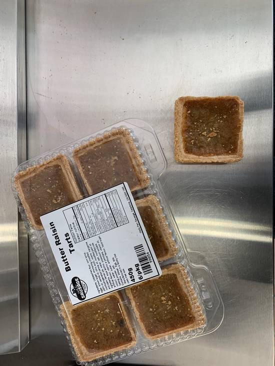 Raisin Butter Tarts (6 per package)