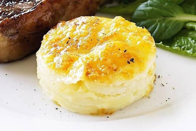 Gourmet Scallop Potatoes