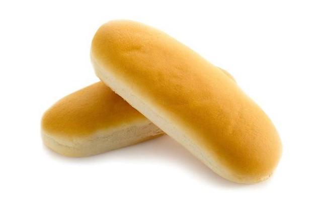 White Sausage Buns (6 per package) 6 un
