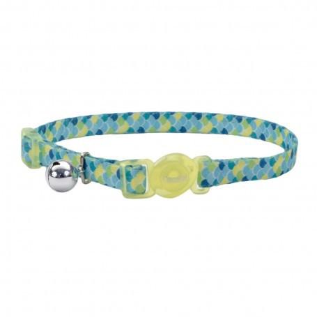 Coastal cat fashion collar scales