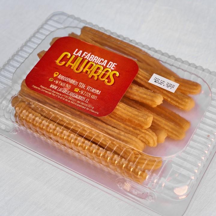 Churros clásicos fritos congelados Caja de 20 un
