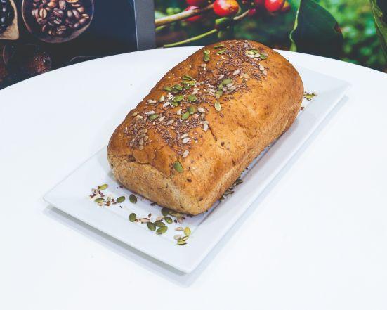 Pan molde integral semilla 800 g