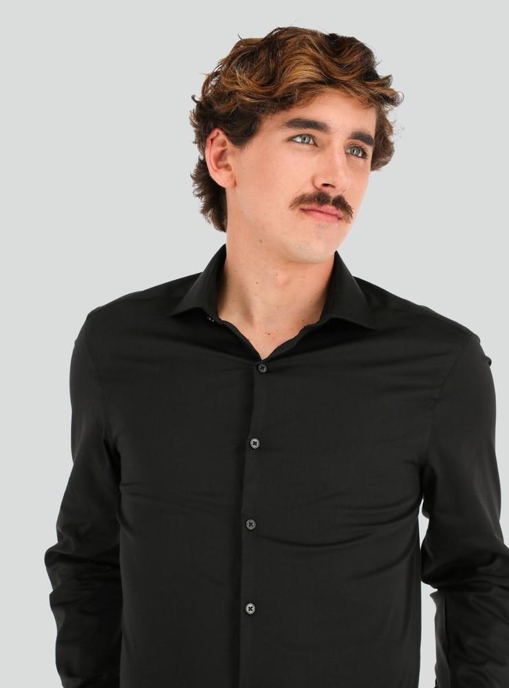 Camisa flex stretch calce slim Talla 16