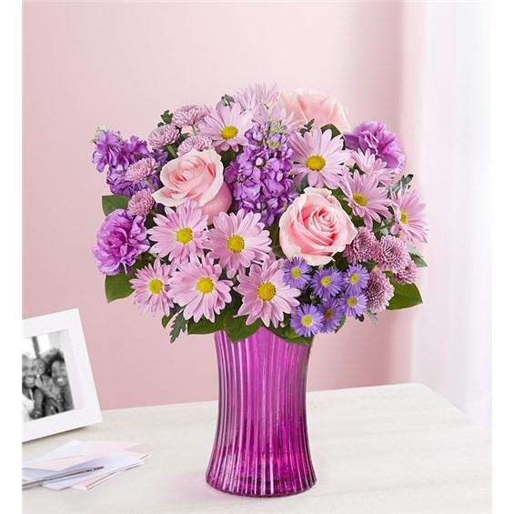 "Daydream bouquet Medium arrangement 14""H x 12""W"