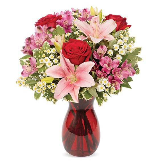 Blushing blooms bouquet 1 Arrangement