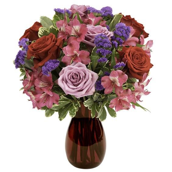 Romantic rose bouquet Medium arrangement