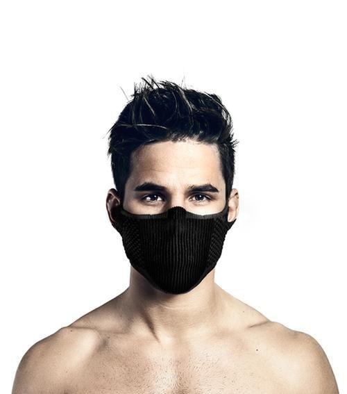 Mascara deportiva filtrante lavable sin cuello f5s e7 Talla standard