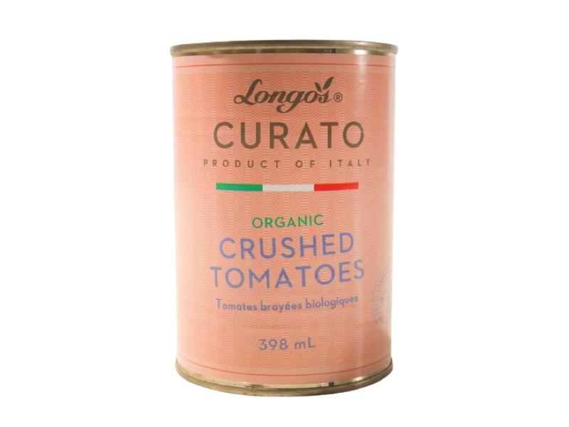 Curato organic crushed tomatoes
