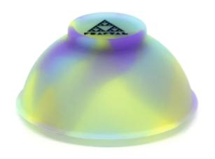 Cuia de Silicone Fractal Flúor 0,200g