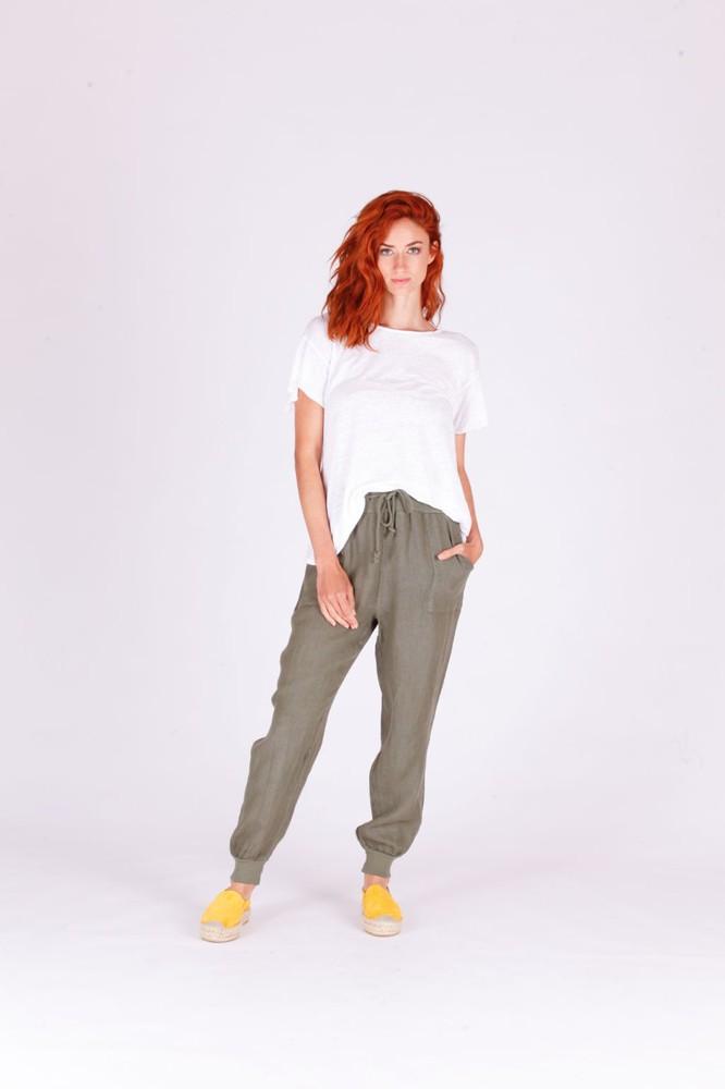 Pantalon mane verde 1