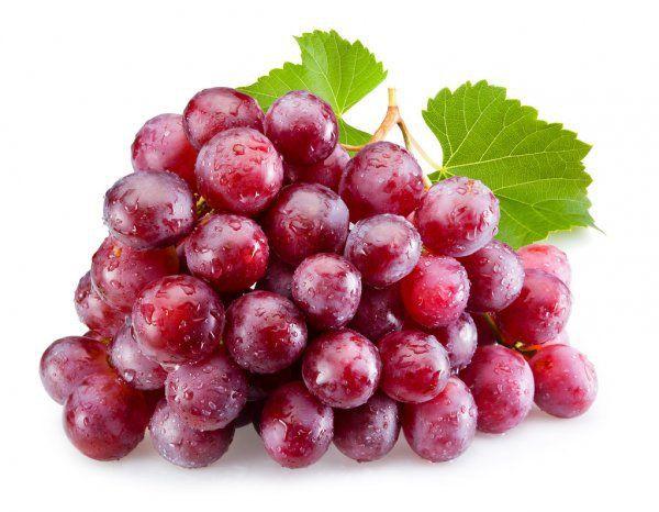 Uvas rojas sin pepas A granel