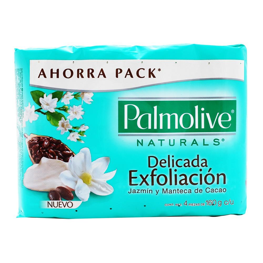 Jabón delicada exfoliación jazmín y manteca de cacao