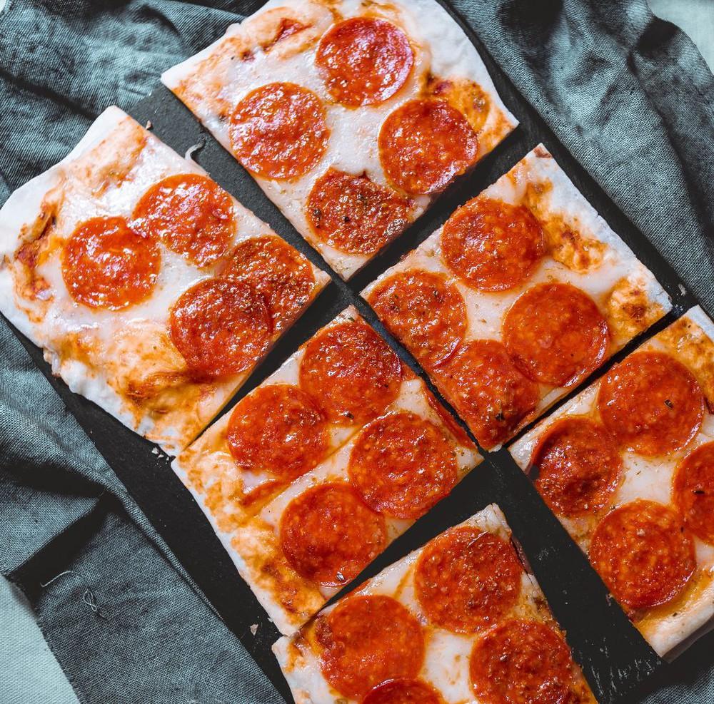 Pizza peperoni 450 gr