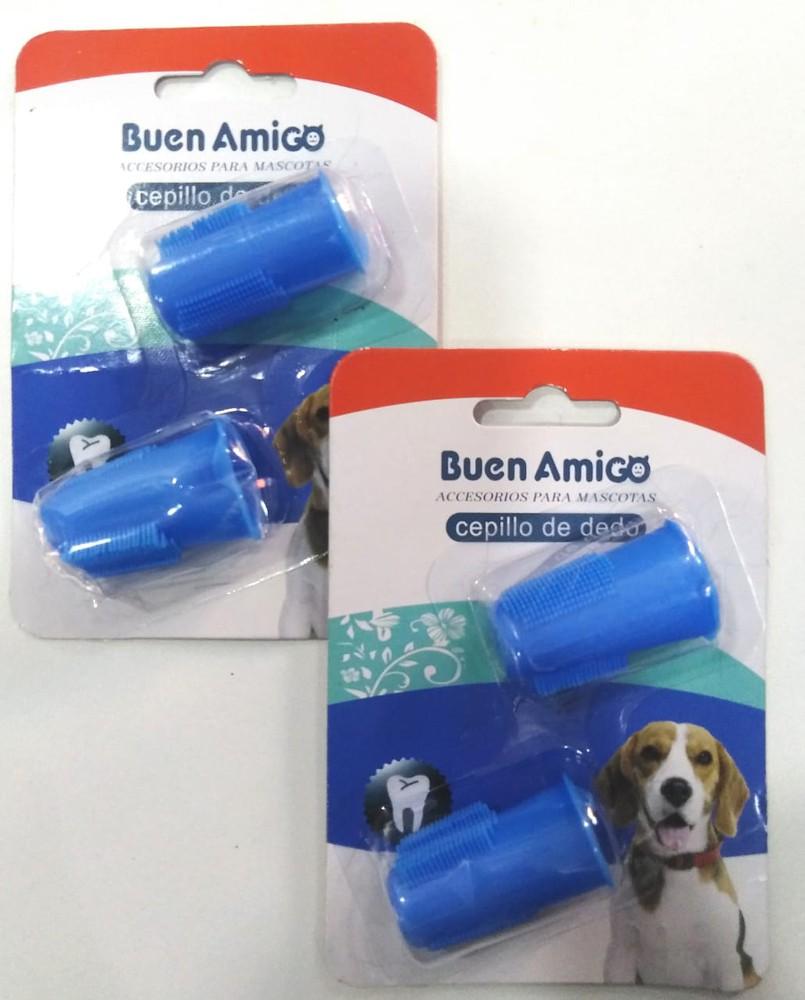 Cepillo dedo para perro