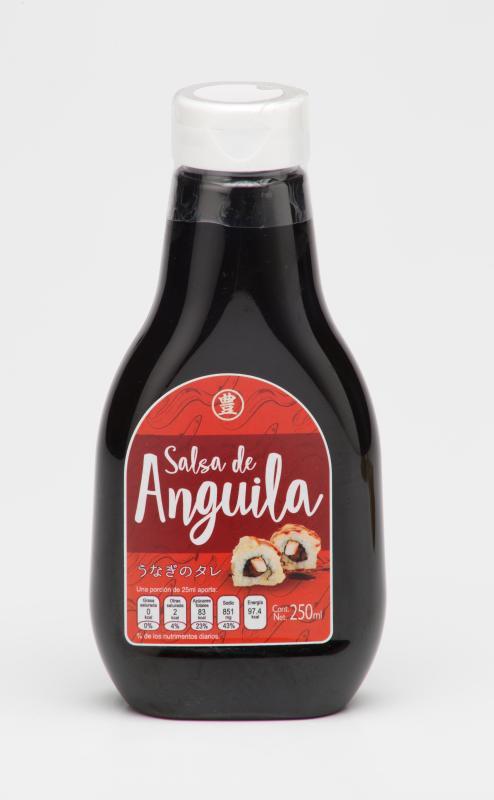 Salsa de anguila Botella 250 ml